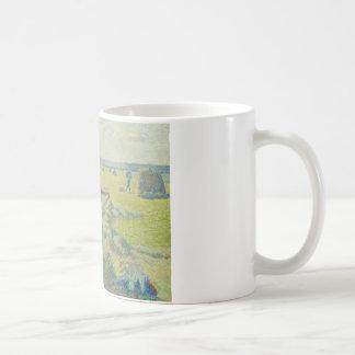 カミーユ・ピサロ-干し草、Eragnyの収穫 コーヒーマグカップ