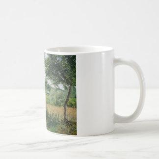 カミーユ・ピサロ-朝の日光の効果、Eragny コーヒーマグカップ