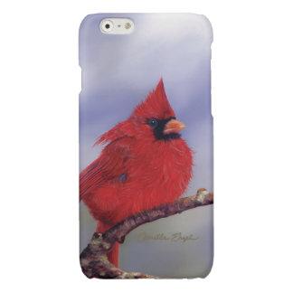 """カミーユEngel著iPhone6ケース""""(鳥)ショウジョウコウカンチョウ"""" 光沢iPhone 6ケース"""