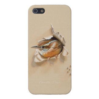 """カミーユEngel著iPhone 5/5Sの場合""""カロライナミソサザイ"""" iPhone 5 Cover"""