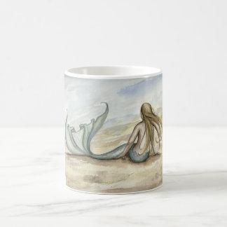 カミーユGrimshawの海岸の人魚のマグ コーヒーマグカップ