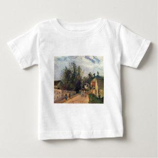 カミーユPissaro -、エメリーの1877年の馬の道の油コーチして下さい ベビーTシャツ