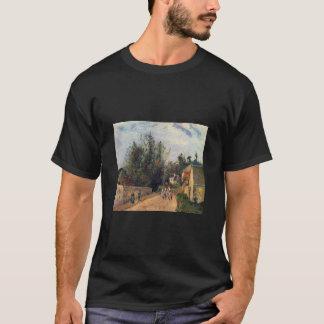 カミーユPissaro -、エメリーの1877年の馬の道の油コーチして下さい Tシャツ
