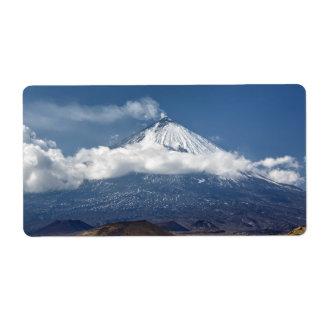 カムチャツカ半島の火山 ラベル