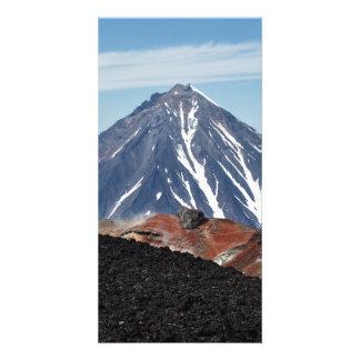 カムチャツカ半島の火山Koryakskaya Sopka カード