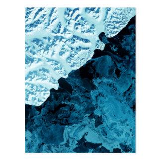 カムチャツカ半島衛星 ポストカード