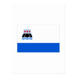 カムチャツカ半島Kraiの旗 ポストカード