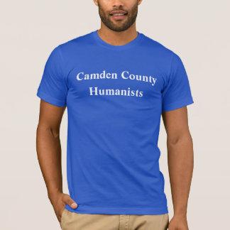 カムデン郡のヒューマニストのワイシャツの青 Tシャツ
