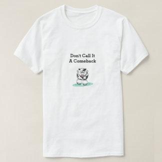 カムバック牛 Tシャツ