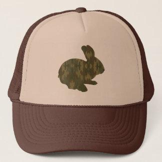カムフラージュのシルエットのイースターのウサギの帽子 キャップ