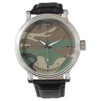 カムフラージュのヴィンテージeWatchFactory腕時計 腕時計