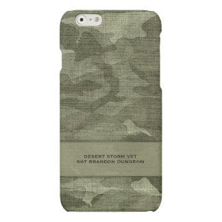カムフラージュの名前をカスタムするの軍隊か狩り マットiPhone 6ケース
