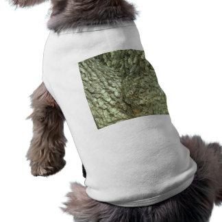 カムフラージュの木の木のフォークの吠え声の迷彩柄の自然の写真 ペット服