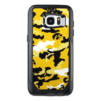 カムフラージュの黄色いComoの軍隊の軍のプリント オッターボックスSamsung Galaxy S7 Edgeケース
