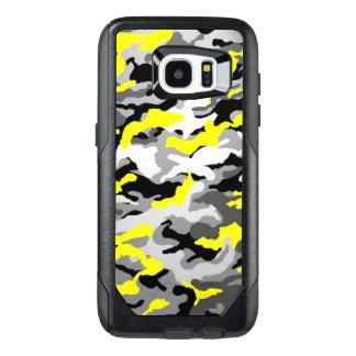 カムフラージュの黄色く黒いComoの軍隊の軍のプリント オッターボックスSamsung Galaxy S7 Edgeケース