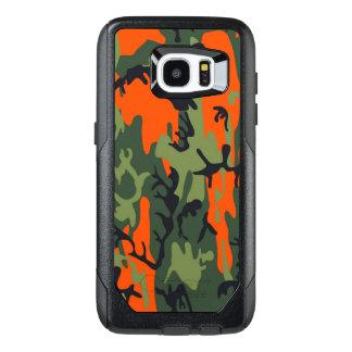 カムフラージュのComoの軍隊の軍のプリントの質感 オッターボックスSamsung Galaxy S7 Edgeケース