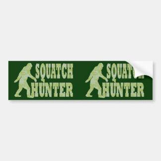 カムフラージュのSquatchのハンター バンパーステッカー