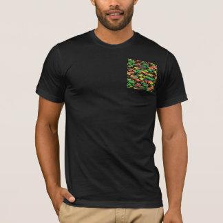 カムフラージュのTシャツ Tシャツ