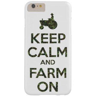 カムフラージュは平静および農場を保ちます BARELY THERE iPhone 6 PLUS ケース