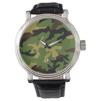 「カムフラージュ軍の捧げ物」の腕時計 腕時計