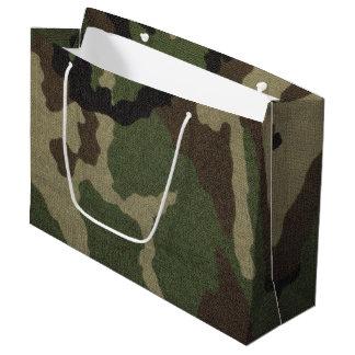 カムフラージュ1 ラージペーパーバッグ