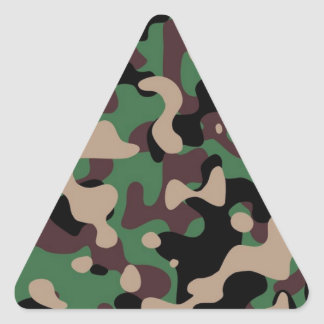 カムフラージュ 三角形シール