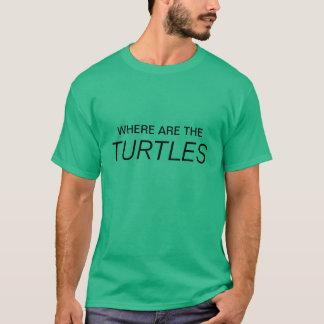 カメがあるところ Tシャツ