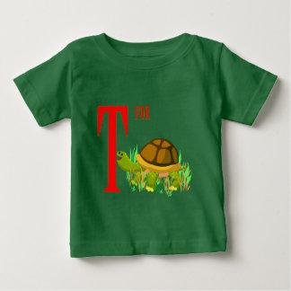 カメのためのT ベビーTシャツ