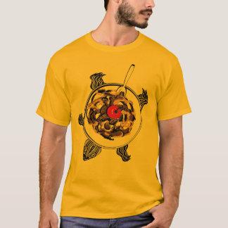 カメのサンデー Tシャツ