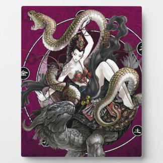 カメのヘビの中国のな精神 フォトプラーク