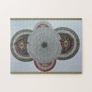 カメの曼荼羅の喜び ジグソーパズル