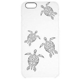 カメの種族のTatoo動物 クリア iPhone 6 Plusケース