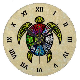 カメのBaGua ラージ壁時計