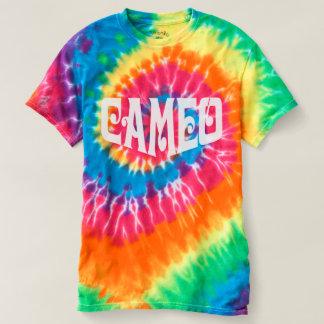 カメオのロゴの絞り染めの人のTシャツ Tシャツ