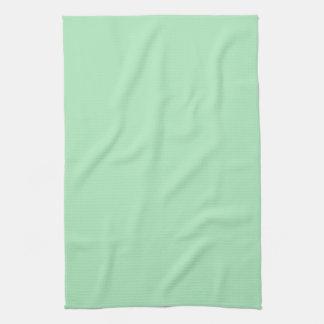 カメオの緑のミント2015色の傾向のテンプレート キッチンタオル