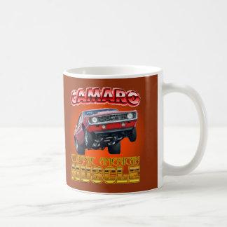 カメオクラシックなアメリカ筋肉マグ コーヒーマグカップ