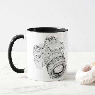 カメラのマグ マグカップ