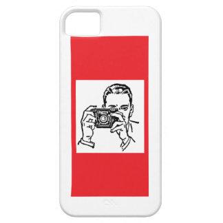 カメラの人 iPhone SE/5/5s ケース