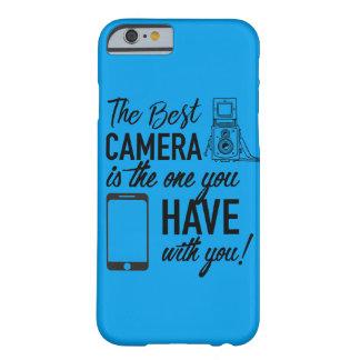 カメラの引用文のSmartphoneの場合 Barely There iPhone 6 ケース