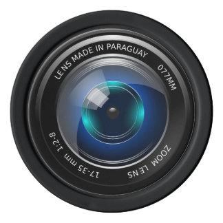 カメラの青いズームレンズのポーカー用のチップ ポーカーチップ