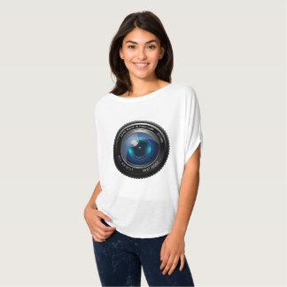 カメラのTシャツ Tシャツ