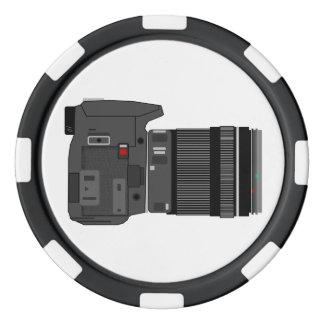 カメラアングル ポーカーチップ