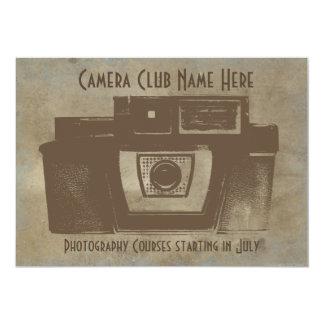 カメラクラブヴィンテージの招待状 カード