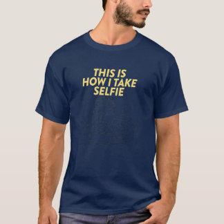 カメラマンがSelfieをいかにしたか Tシャツ