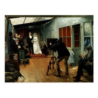 カメラマンで結婚します、1878-9年 ポストカード