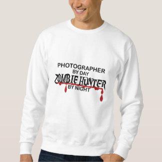 カメラマンのゾンビのハンター スウェットシャツ