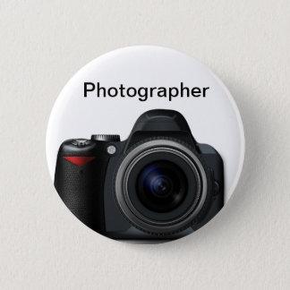 カメラマンのバッジ 5.7CM 丸型バッジ