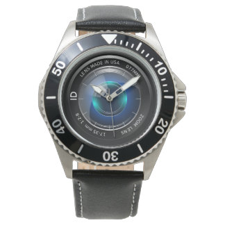 カメラマン|カメラレンズのイメージ 腕時計