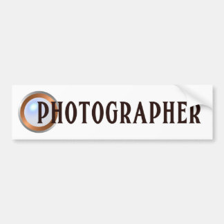 カメラマン バンパーステッカー