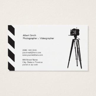 カメラマン-ビデオグラファーのıの名刺 名刺